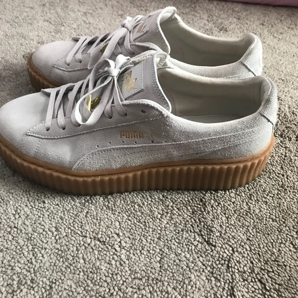cheap for discount 3c4aa d94b5 Women's Rihanna Fenty Puma creepers